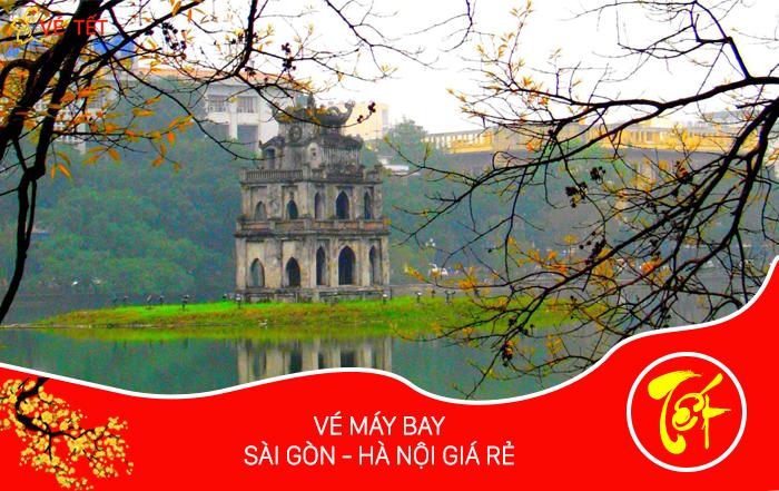 Vé máy bay Tết từ Sài Gòn đi Hà Nội