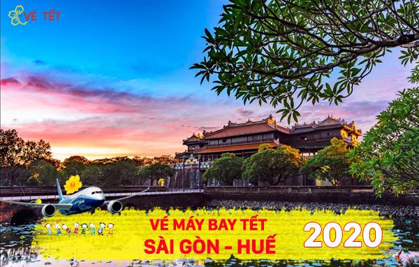 Vé máy bay Tết Sài Gòn Huế 2020