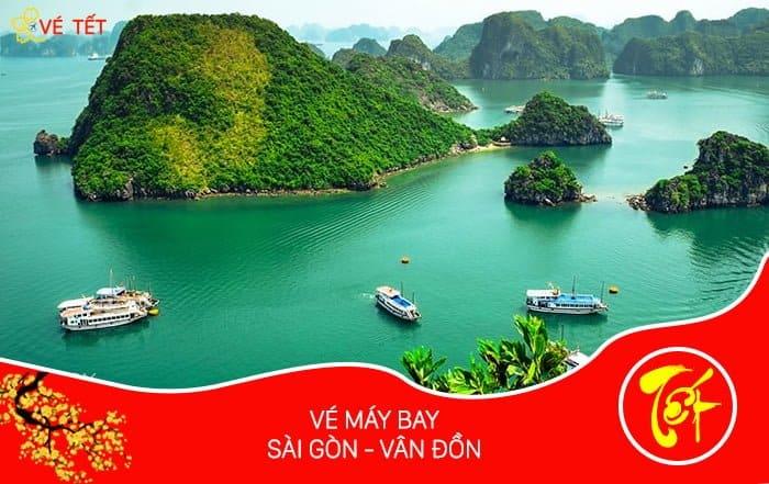 Vé máy bay Tết từ Sài Gòn đi Vân Đồn