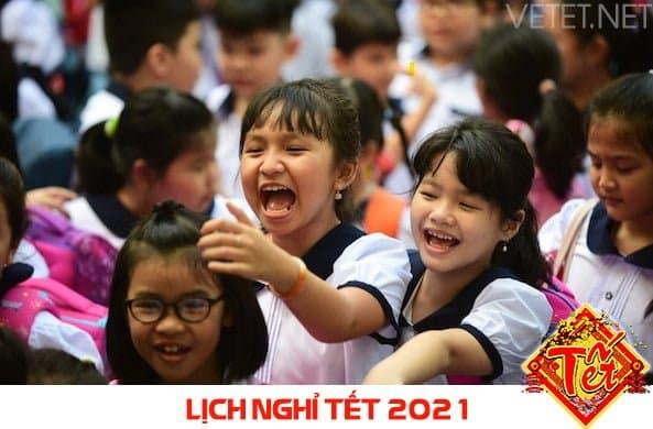 Lịch nghỉ Tết năm 2021 của học sinh Khánh Hòa